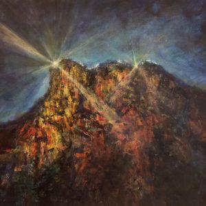 """Auction: Painting """"Lion Rock Glory"""" 【獅子山榮光】"""